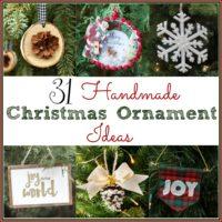 31 Handmade Christmas Ornament Ideas
