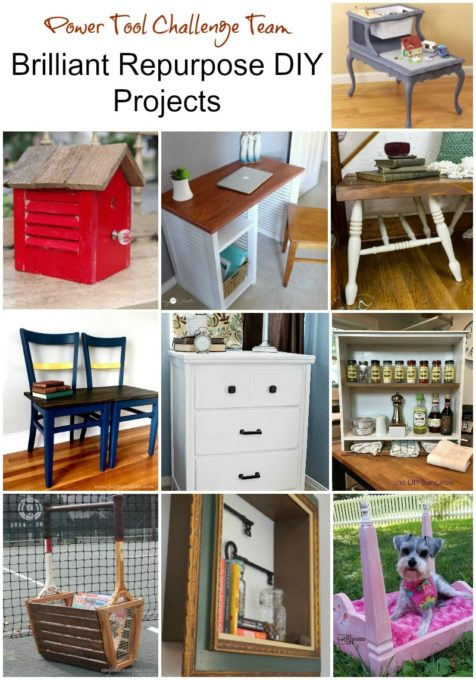 Brilliant Repurpose Projects for Your Home - Get ideas for ways to repurpose items for fun home decor for your home.