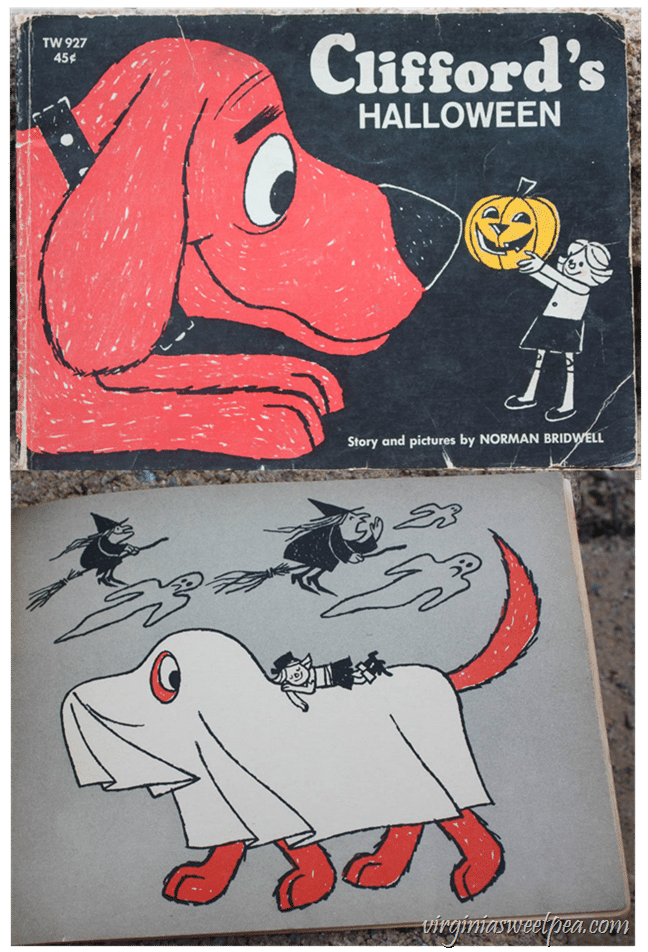 1966 Clifford's Halloween Book