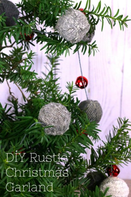 How to Make a Rustic Christmas Garland