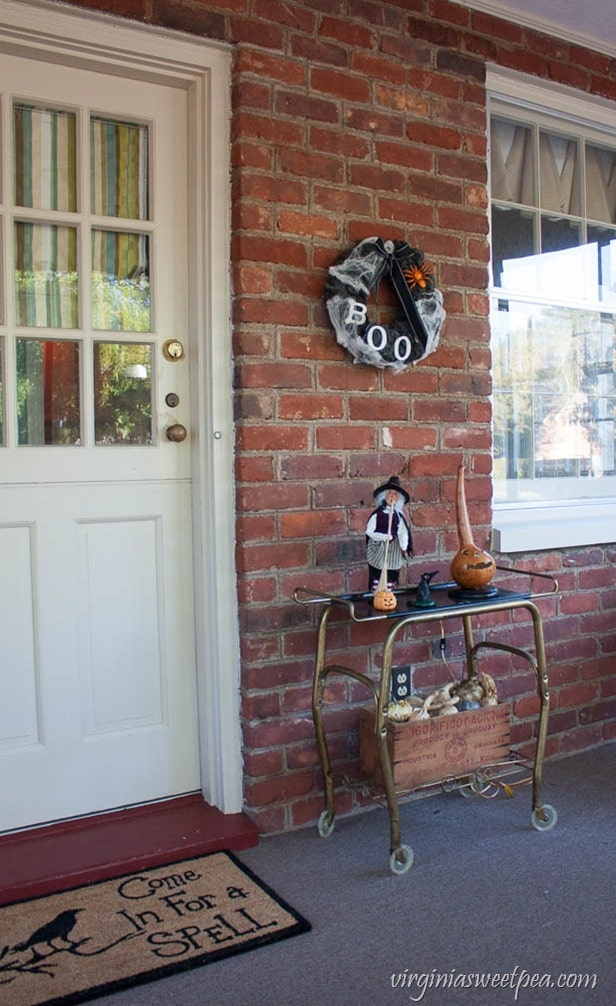 Halloween on the Porch