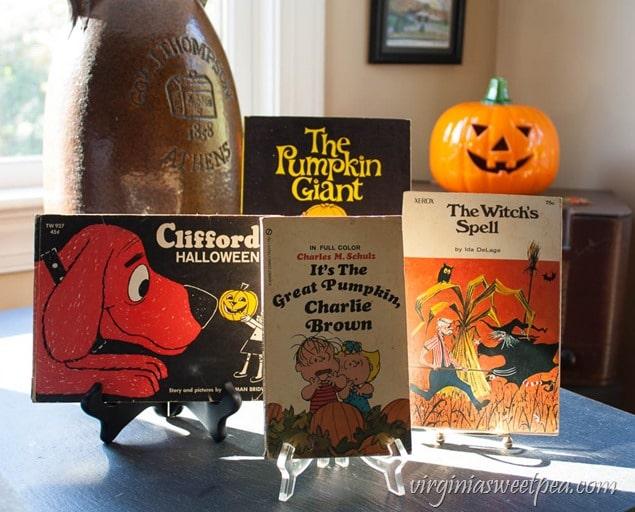 Vintage Halloween Children's Books