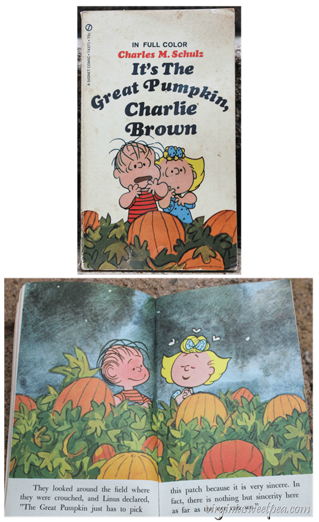 1967 It's The Great Pumpkin, Charlie Brown Book