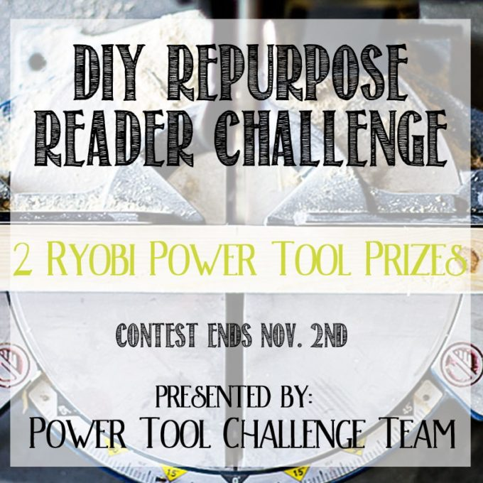 Power Tool Challenge Giveaway - Enter to Win Two Prize Packages from Ryobi Tools