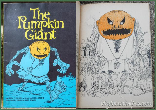 1976 The Pumpkin Giant Book