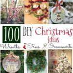 100 DIY Christmas Ideas – Trees, Wreaths and Ornaments