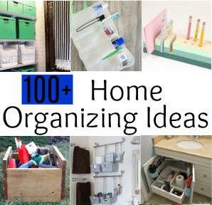 100 Home Organizing Ideas