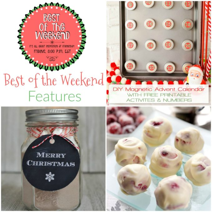 Best of the Weekend Features for December 1, 2017