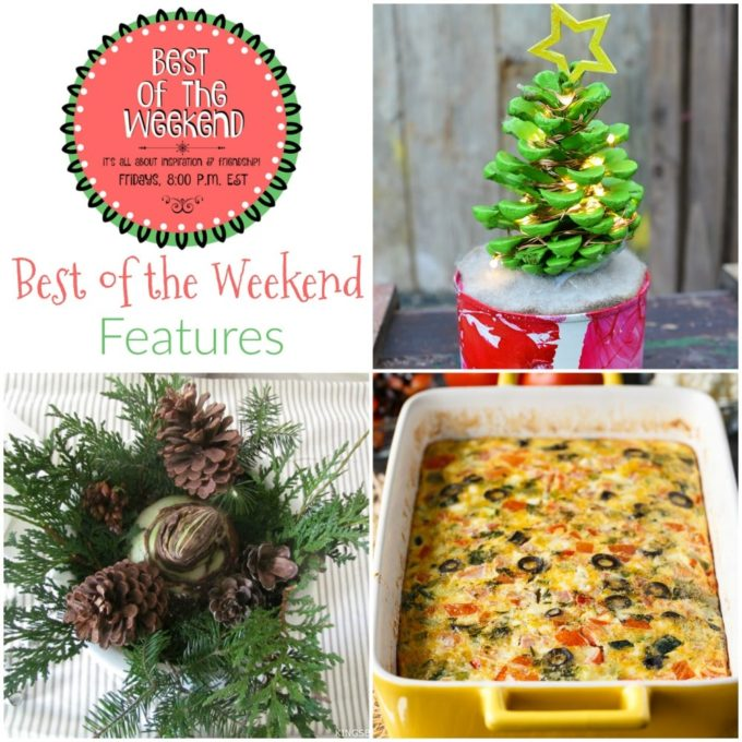 Best of the Weekend Features for November 17, 2017