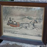 Vintage Winter Art
