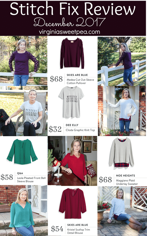 Stitch Fix Review - December 2017 - virginiasweetpea.com