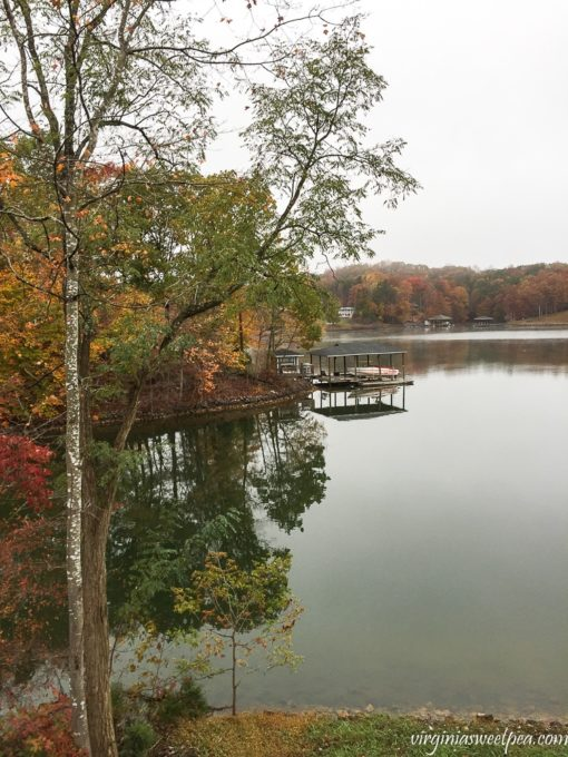 Fall Foliage at Smith Mountain Lake, VA - virginiasweetpea.com
