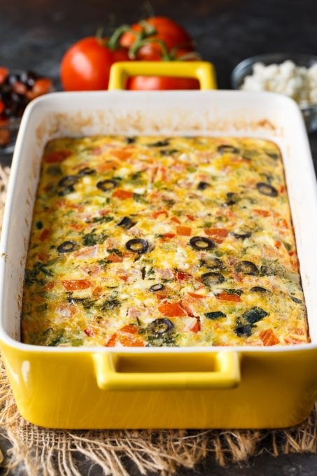 Mediterranean Brunch Bake