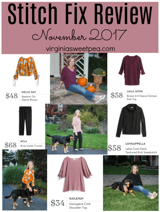 Stitch Fix Review - November 2017 - virginiasweetpea.com
