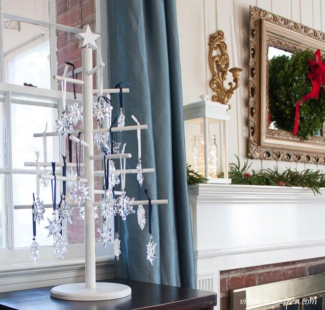 Swarovski Snowflake Christmas Ornaments - virginiasweetpea.com