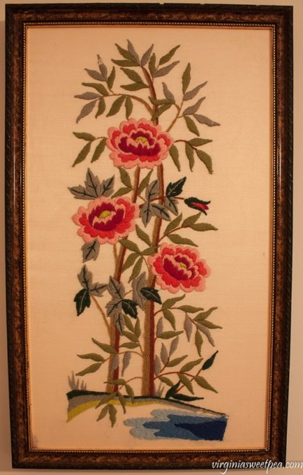 Vintage Floral Needlework - virginiasweetpea.com