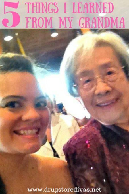 5 Things I Learned from My Grandma