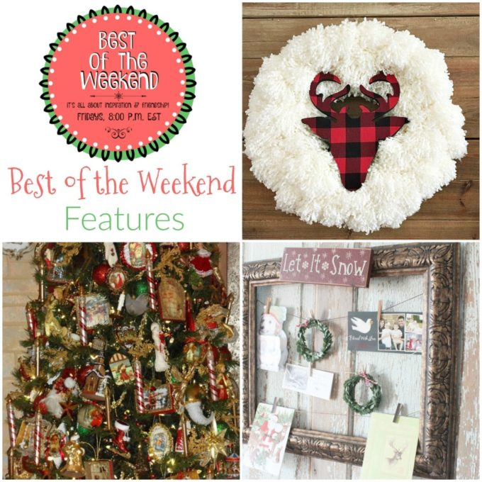 Best of the Weekend Features for December 15 - virginiasweetpea.com