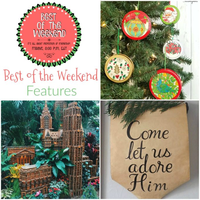 Best of the Weekend Features for December 8
