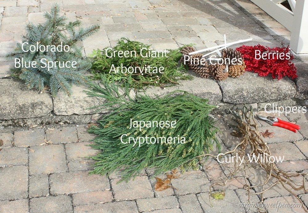Christmas Planters Diy.Diy Christmas Outdoor Planters Sweet Pea