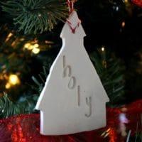 Easy Clay Christmas Ornaments