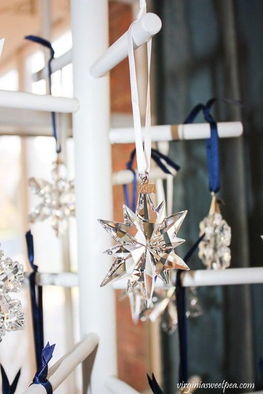 2017 Swarovski Crystal Snowflake Ornament - virginiasweetpea.com