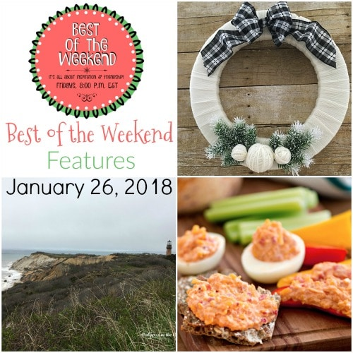 Best of the Weekend - Features for January 26, 2018 virginiasweetpea.com