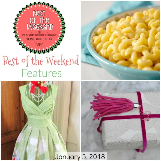 Best of the Weekend Features for January 5, 2018