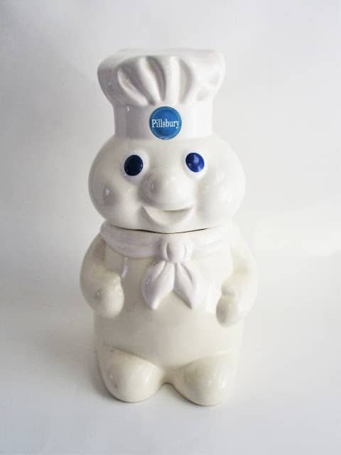 Pillsbury Dough Boy Cookie Jar from 1988