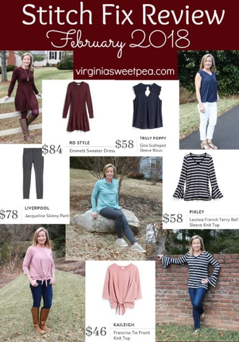 Stitch Fix Review for February 2018 and $1,200 Stitch Fix gift card giveaway