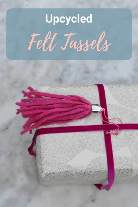 How to Make Tassels from Upcycled Sweaters