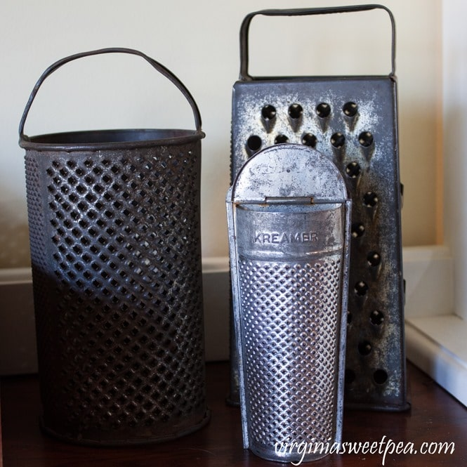 Collection of Vintage Kitchen Graters