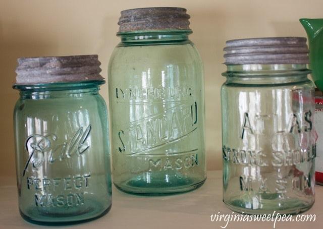 Vintage Lynchburg Standard Mason Jar from Lynchburg, VA - virginiasweetpea.com
