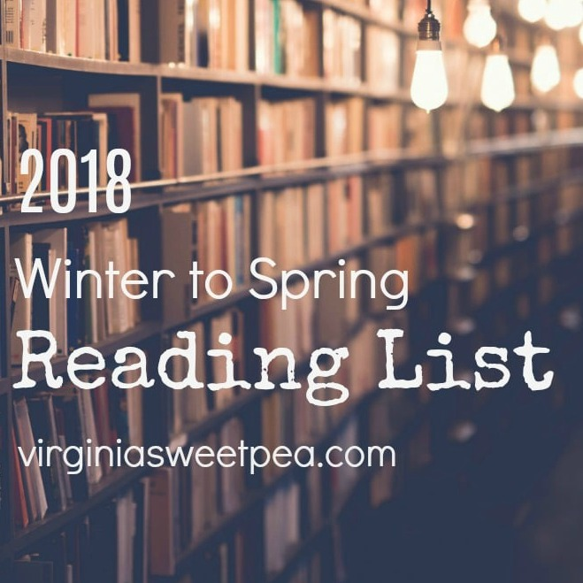 2018 Winter to Spring Reading List