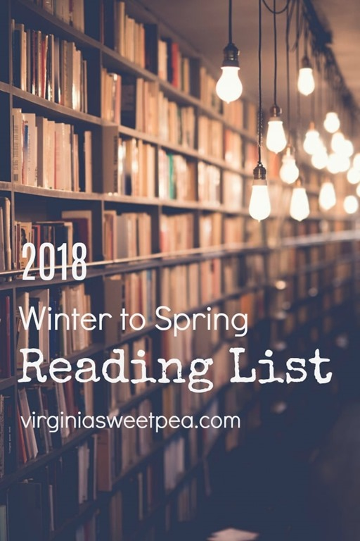 2018 Reading List - Books that I'm reading in early 2018.
