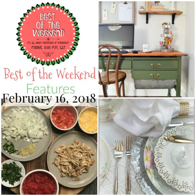 Best of the Weekend Features for February 16, 2018