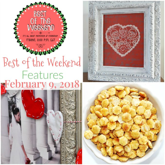 Best of the Weekend Features for February 9, 2018