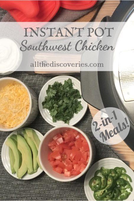 Instant Pot Southwest Chicken