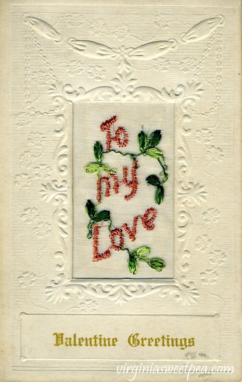 Vintage Valentine's Day Postcard from the early 1900's