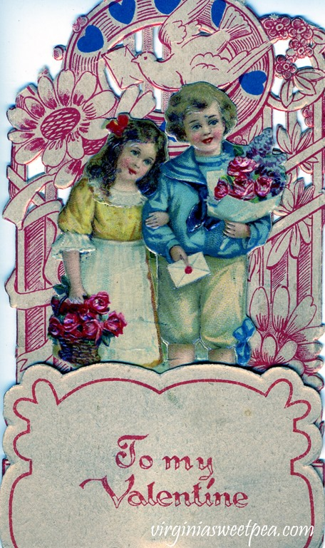 Vintage Valentine's Day Card from the early 1900's