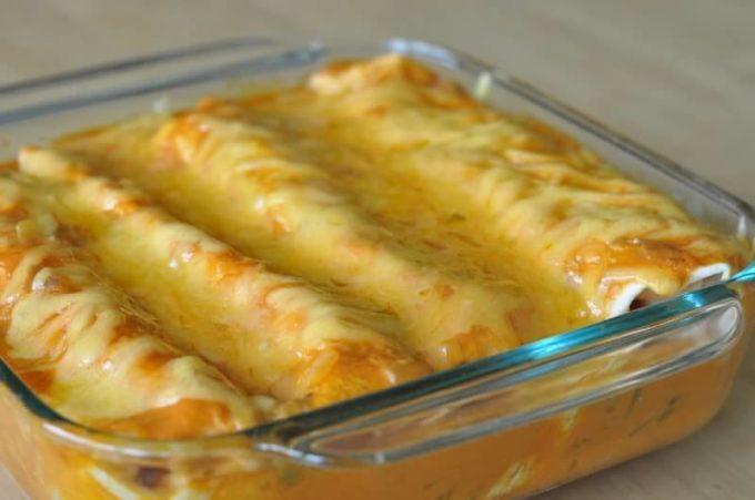 Cheesy Chicken Enchilada Recipe