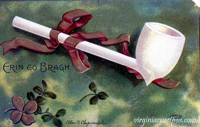 Vintage St. Patrick's Day Postcard - virginiasweetpea.com