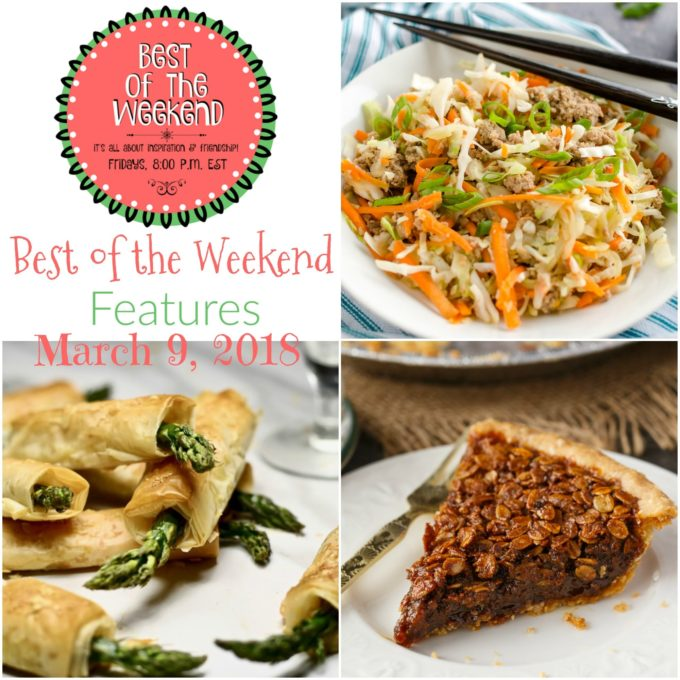 Best of the Weekend Features for March 9, 2018
