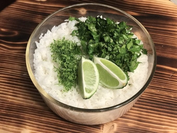 Cilantro Lime Jasmine Rice - Best of the Weekend Feature for March 23, 2018