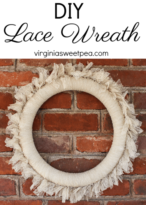 DIY Lace Wreath