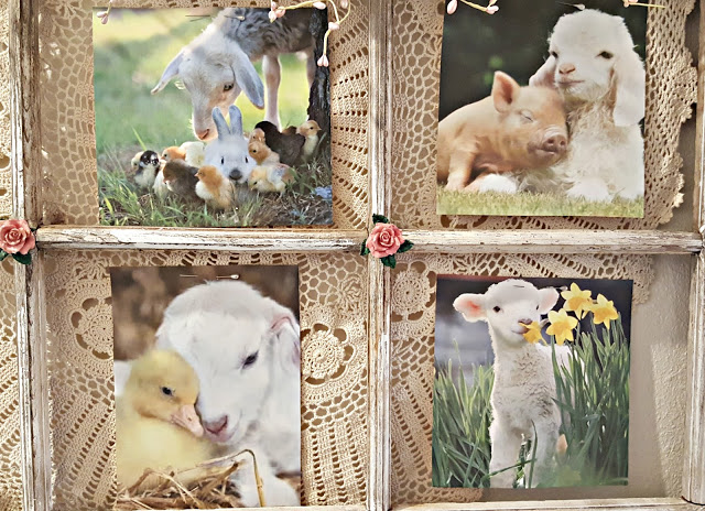 Easter Sheep Art Display - Best of the Weekend Feature for March 23, 2018