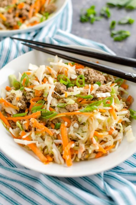 Instant Pot 21 Day Fix Egg Roll Bowl Recipe - Best of the Weekend Feature for March 9, 2018