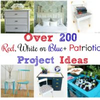 Over 200 Red, White and Blue Plus Patriotic Project Ideas