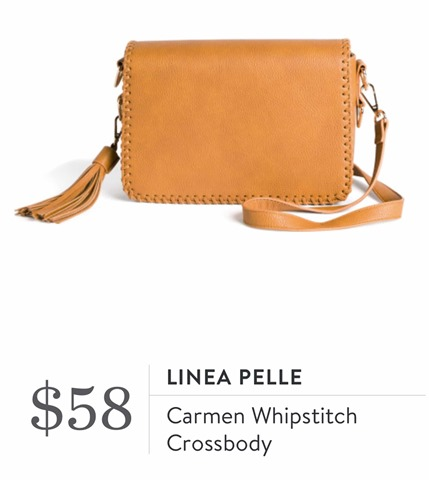 Stitch Fix Review for April 2018-Linea Pelle Carmen Whipstitch Crossbody - virginiasweetpea.com