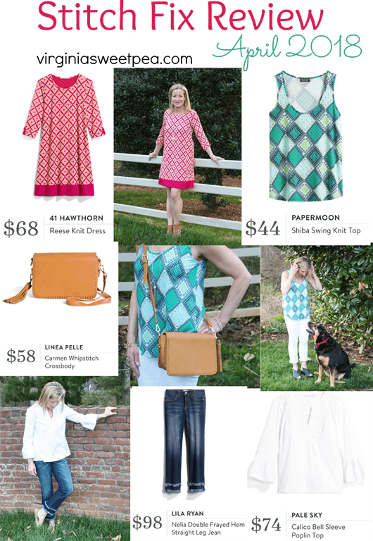 Stitch Fix Review for April 2018 - virginiasweetpea.com